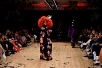 Vin & Omi catwalk - London Fashion Week 2016