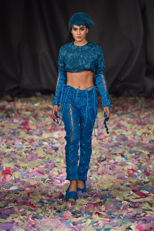 Vin & Omi present their latest collection during London Fashion Week AW16