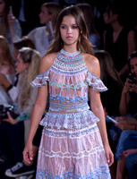 Temperley London catwalk - London Fashion Week 2016